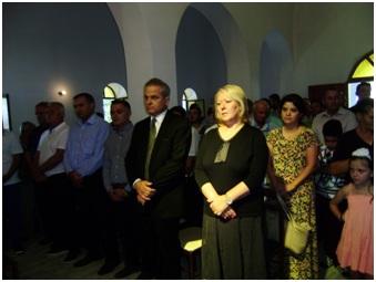 Η πρέσβης της Ελλάδος στα Τίρανα κ Ελένη Σουρανή, στο βορειοηπειρωτικό χώρο