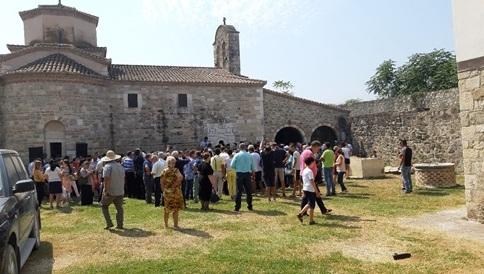 Στο Κολικόντασι, εκεί που έχει ταφεί ο Άγιος Κοσμάς ο Αιτωλός