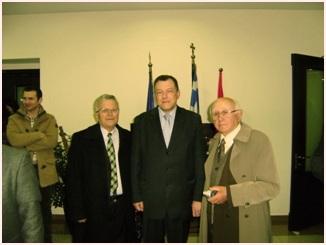 Αλλαγή φρουράς στο Ελληνικό Προξενείο Αργυροκάστρου