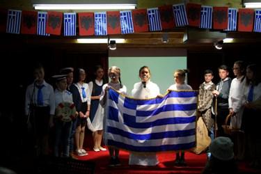 Επέτειος 28ης Οκτωβρίου στην Κορυτσά και Ελληνικό σχολείο ΟΜΗΡΟΣ