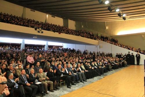 H Θεσσαλονίκη τίμησε σε μεγαλειώση εκδήλωση τον επίσκοπο του χρέους και της θυσίας
