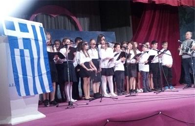 Η εθνική μας εορτή, του ιστορικού ΟΧΙ, στους Αγίους Σαράντα