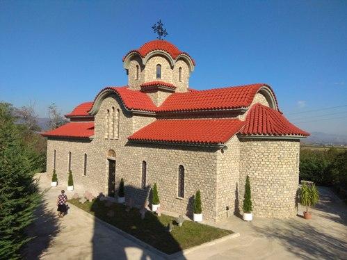 Εγκαίνια Ι.Ν. Αγ. Νικολάου στη Μπομποστίτσα Κορυτσάς